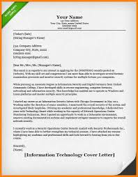 Covering Letter Sample For Job Information Technology It Cover