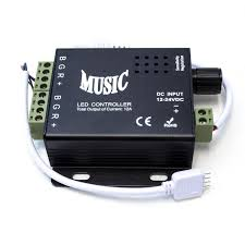 Sound To Light Controller Rgb Multicolor Led Light Strip Music Controller Sound Activated