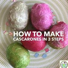 Cascarones Designs A Three Step Tutorial For Making Cascarones For Easter