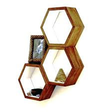 honeycomb bookshelves