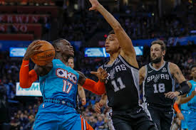Submitted 2 years ago by lasharkusaldridge. Thunder Vs Spurs Final Score Okc Rocks San Antonio To Sleep In 3rd To Earn 122 112 Win Welcome To Loud City