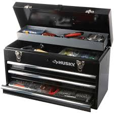 husky 20 in 3 drawer small metal