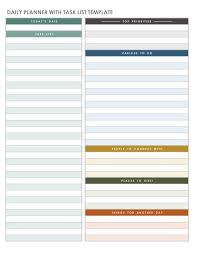 printable daily calendars daily calendar template 5 best daily planner printable