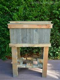 diy deck cooler pre stain and paint foxhollowcottage com thehomedepot 3mpartner