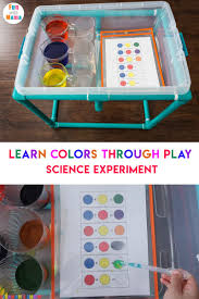 Color Mixing Water Activity For Kids Fun With Mama