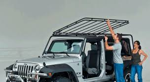 check jeep jk square back roof racks
