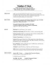 Resume Plant Operator Resume