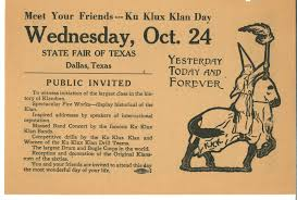 flyer for ku klux klan day the portal to texas history  flyer for ku klux klan day the portal to texas history