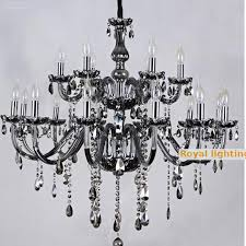 aliexpress salon bar black glass chandelier restaurant black glass chandelier