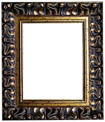 black and gold frame png. Black And Gold Antique Frame By Jeanicebartzen27 Png