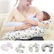 2 in 1 newborn baby tfeeding u shaped infant head support pillow