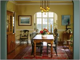 blue dining room color ideas. Tall Counter Height Farm Table Dining Room Paint Color Ideas Rectangle Glass Top Free Standing Cabinet Blue Striped Fabric Sofa Four N