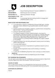 marketing assistant job description samples samplebusinessresume job description quotes quotesgram marketing assistant job description example marketing assistant duties and responsibilities in a