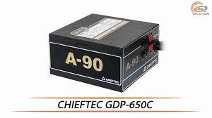 <b>CHIEFTEC</b> GDP-650C - обзор <b>блока питания</b> - YouTube