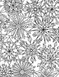 Christmas Coloring Pages For Adults Printable Free With Winter Page