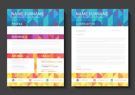 Free Curriculum Vitae Vector Design Download Free Vector Art