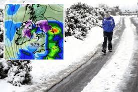 Irish Weather Met Eireann Forecast Chance Of Snow For