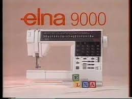 Elna 9000 Sewing Machine For Sale