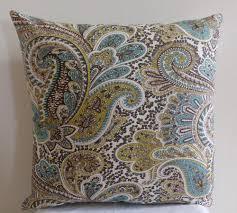 Paisley Sofa decorative paisley pillows ebay 8534 by uwakikaiketsu.us