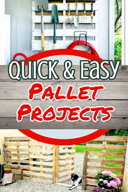 easy diy furniture ideas. DIY Pallet Projects - Quick And Easy Project Ideas To Try Beginner  Pallet Projects Easy Diy Furniture