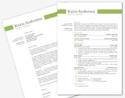 Gallery Of Modern Microsoft Word Resume And Cover Letter Template By
