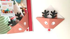 crafts easy reindeer bookmarks for you