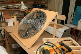 diy paint booth exhaust fan home painting