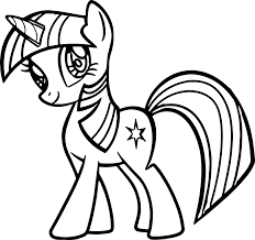 Small Picture Cute My Little Pony Coloring Page With Pages glumme