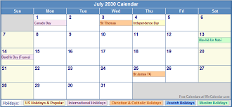 Wincalendar Com Printable Calendar Calendar To Print July Javascript Calendar Scriptdate