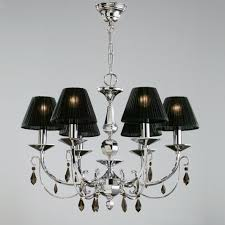 luxury black lamp shade chandelier all about house design cool
