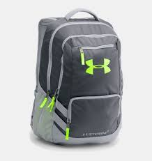 under armour backpack. ua storm hustle ii backpack, stealth gray under armour backpack i