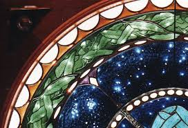 architectural stained glass herter design