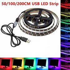 led mood lighting. 50100200cm usb led strip light tv pc back mood lighting rgb multi led t