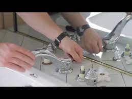how to replace a garden tub faucet
