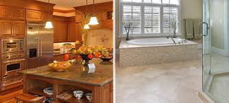 bathroom and kitchen remodel. Plain Kitchen Kitchen Bathroom Remodeling Fascinating And Bath Remodel O