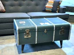 vintage trunk coffee table vintage trunk coffee e chest style wood distressed steamer a old old trunk coffee table for