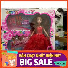 Hộp Búp bê Barbie thời trang kèm phụ kiện