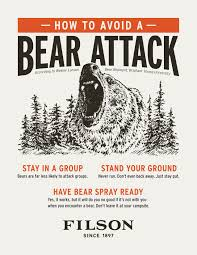 Filson 101: Wesley Larson's Guide to Safety in Bear Country   The Filson  Journal