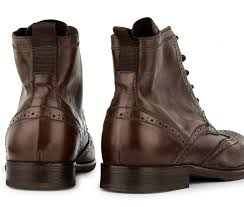 brogue boots simpson brown