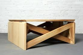coffee and dining table industrial modern dining table u shaped metal legs convertible coffee dining table