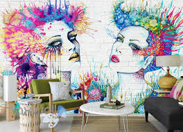 3d wall art woman