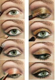 you prefer glamorous gold eye makeup tutorial musely