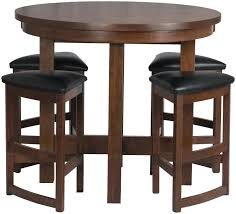 high dining table round tall round table with stools live futures high top outdoor dining table