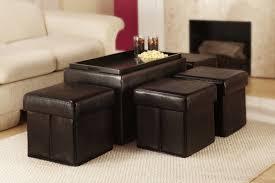 Marla 5 Piece Bench with Storage & Side Ottoman Set