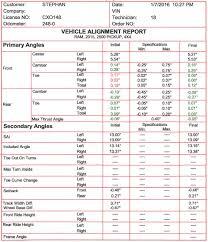 2015 Alignment Specs, HLEP PLEASE! - Dodge Cummins Diesel Forum