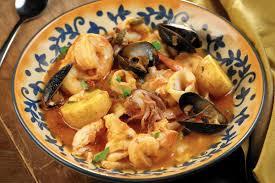 for Christmas eve: Seafood stew ...