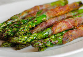 Image result for grilled asparagus with pancetta