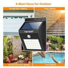 Solar Powered Outdoor Lights For Steps 20 Led Solar Lights For Garden Home Motion Sensor Waterproof