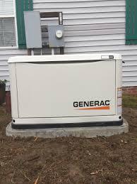 Generac installation Generator Generac January 28th Brunswick County Generac Generator Installation Hales Electrical Service Recent Generac Generator Installations Hales Electrical Service