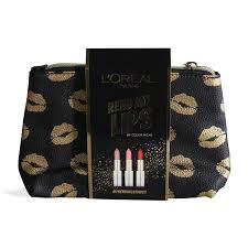 l oreal paris read my lips make up bag loco no nettbutikk